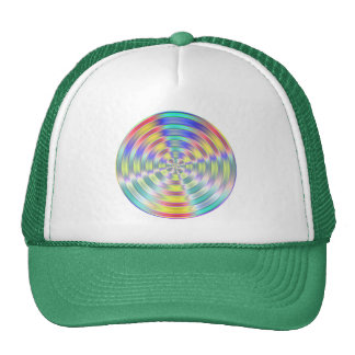 Abstract Disk Trucker Hat