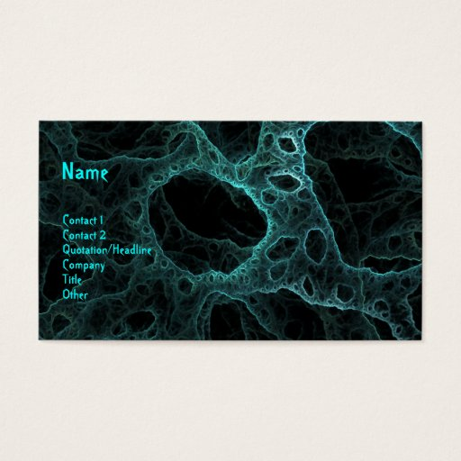 Abstract DNA Business Card