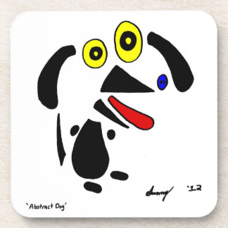 Abstract Dog Coasters - Set of 6