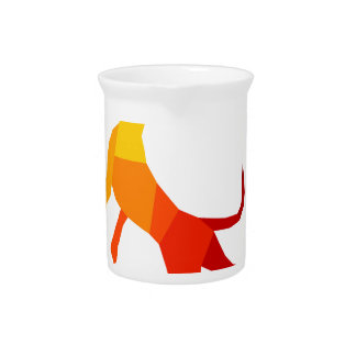Abstract dog.jpg pitcher