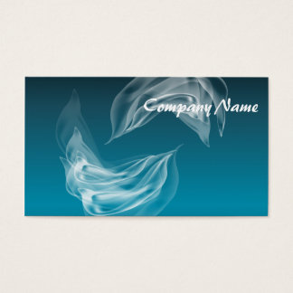 Abstract Dolphins at Play Business Card