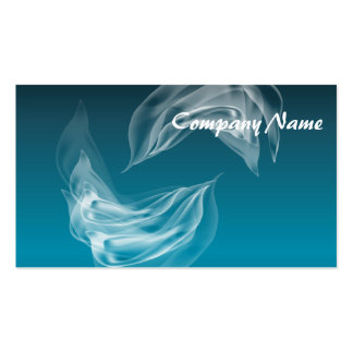 Abstract Dolphins at Play Business Card Template