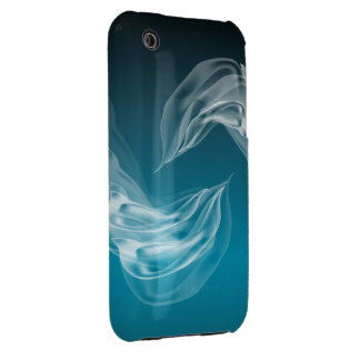 Abstract Dolphins at Play Case-Mate iPhone 3 Cases