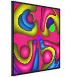 Abstract Doodle Canvas Print