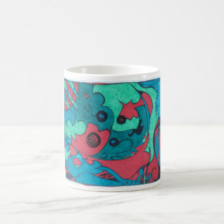 Abstract Doodle Coffee Mug