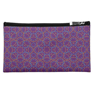Abstract Dotted Pattern Makeup Bag