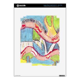 Abstract drawing 1 iPad 3 skins