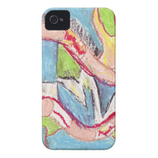 Abstract drawing 1 iPhone 4 cover