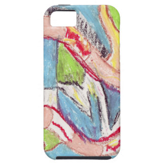 Abstract drawing 1 iPhone SE/5/5s case
