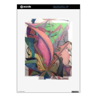 Abstract Drawing iPad 2 Decal