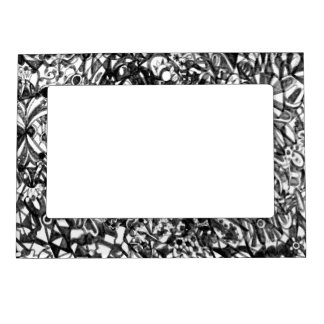 Abstract Drawing Magnetic Frame