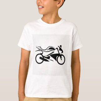 Abstract drawing of a motorbike T-Shirt