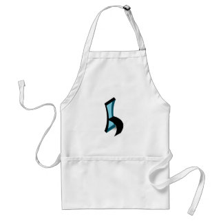 Abstract drawing of Chair Adult Apron