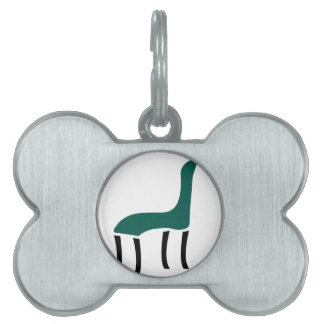 Abstract drawing of Chair Pet Name Tag
