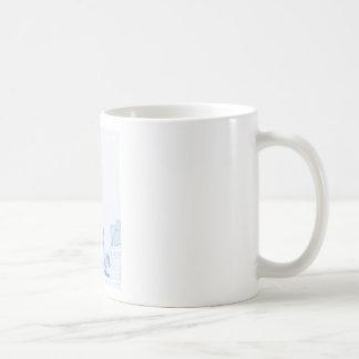 Abstract Drawing of Chicago No1 Coffee Mug