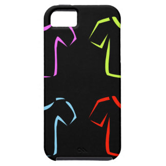 Abstract drawing of tshirts iPhone SE/5/5s case
