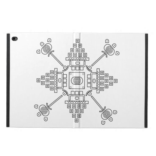 abstract drawing powis iPad air 2 case