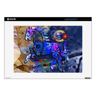 Abstract Dream Design Horse Decals For Laptops