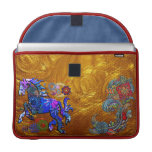 Abstract Dream Design Horse Sleeves For MacBook Pro