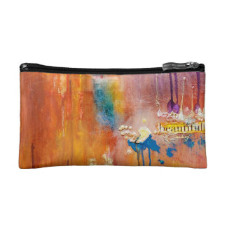 Abstract Dream Me Beautiful Bagette Makeup Bags