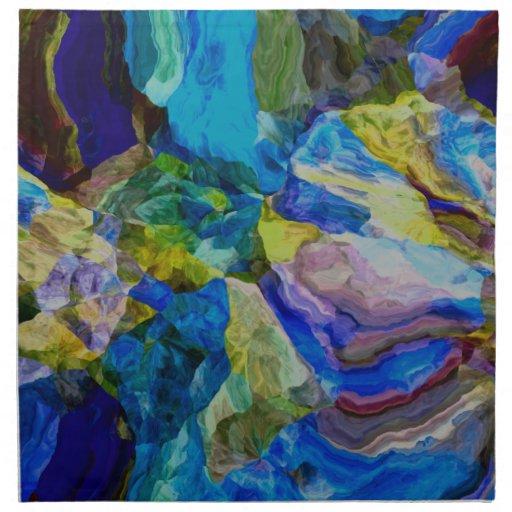 Abstract Dream v.1 Napkins