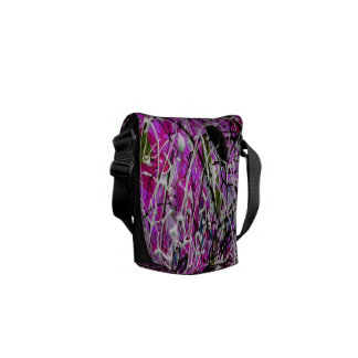 Abstract Drip and Dream Courier Bag