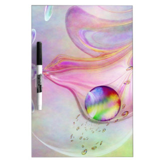 Abstract Drops created by Tutti Dry Erase Whiteboards