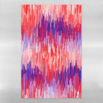 Abstract Dry  Erase Magnetic Sheet