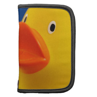 Abstract Ducky Duck Folio Planner