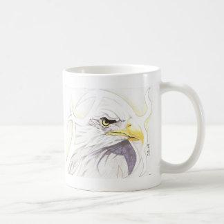 ABSTRACT EAGLE COFFEE MUG