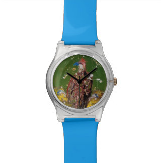 Abstract Eagle Wristwatch