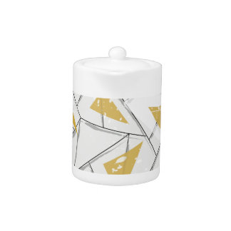 Abstract: Early Fall Teapot