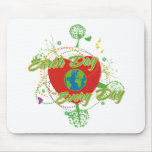 Abstract Earth Day Mousepad