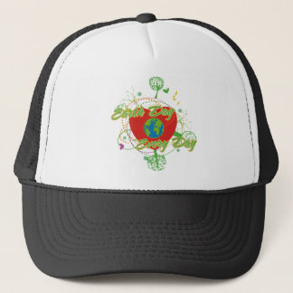 Abstract Earth Day Trucker Hat