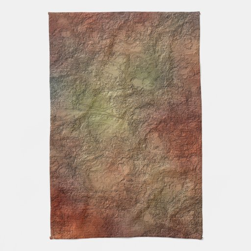 Earth Tone Kitchen Colors: Abstract Earth Tone Colors Kitchen Towels
