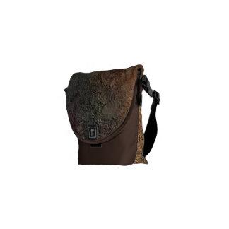 Abstract Earth Tone Colors Mini Zero Messenger Bag