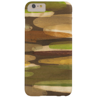Abstract Earth Tone Landscape Barely There iPhone 6 Plus Case
