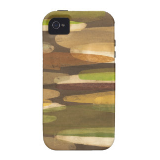 Abstract Earth Tone Landscape Case-Mate iPhone 4 Cases