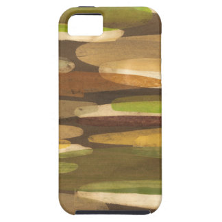 Abstract Earth Tone Landscape iPhone 5 Cases