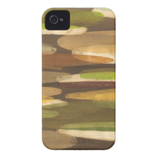 Abstract Earth Tone Landscape iPhone 4 Cover