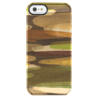 Abstract Earth Tone Landscape Uncommon Clearly™ Deflector iPhone 5 Case