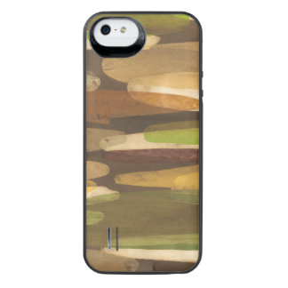Abstract Earth Tone Landscape Uncommon Power Gallery™ iPhone 5 Battery Case