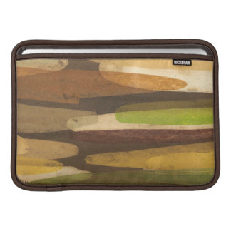 Abstract Earth Tone Landscape MacBook Sleeve