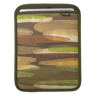Abstract Earth Tone Landscape Sleeve For iPads
