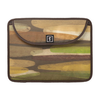 Abstract Earth Tone Landscape Sleeve For MacBook Pro