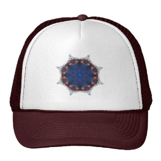 Abstract Earth Traveler Trucker Hat