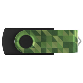 Abstract Eco Triangles USB Flash Drive
