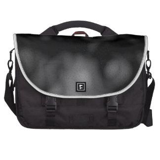 abstract eddies laptop messenger bag
