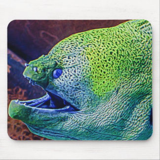 Abstract Eel Mouse Pad