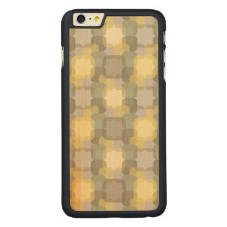 Abstract Effect Carved Maple iPhone 6 Plus Case